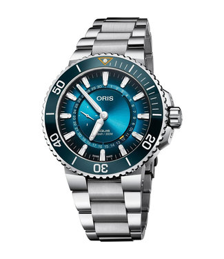 Oris Aquis Carysfort Reef Limited Edition heren horloge 0179877544185-SET MB