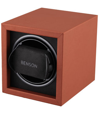 Benson Watchwinders & Horlogeboxen Benson Compact 1.17 Light Brown Leather
