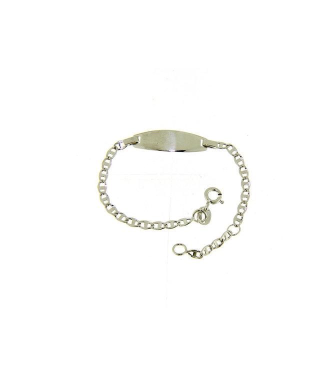 18kt armband Identiteit witgoud VTP060BBT1