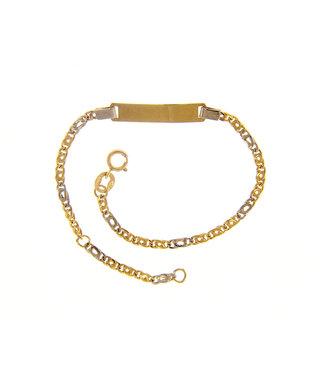 18kt armband Identiteit VBC050GB15T