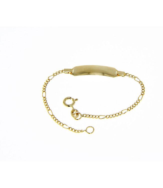 Willems Creations 18kt armband Identiteit 170768