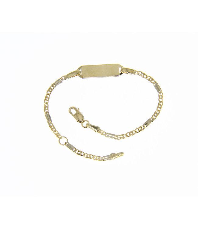 Willems Creations 18kt armband Identiteit 171415