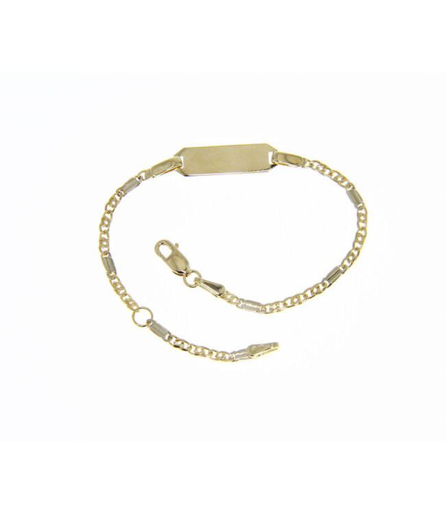 Willems Creations armband 18kt Identiteit 171415