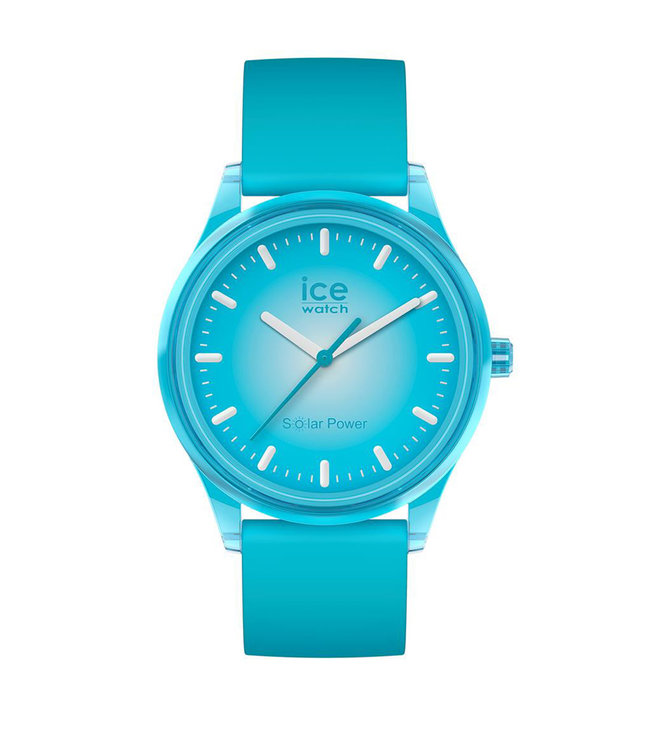 Ice Watch Ice Solar Power - Blue Planet - Medium - 017769