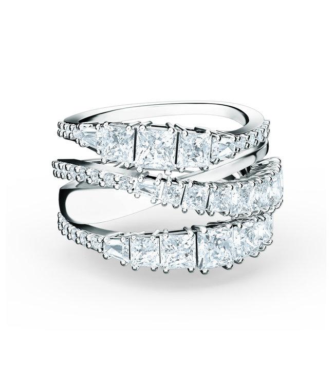 Swarovski Twist ring Wrap Full Pave