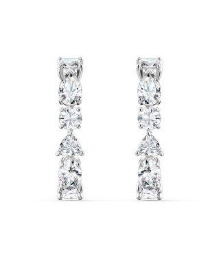 Swarovski Tennis Deluxe pierced earrings 5563322