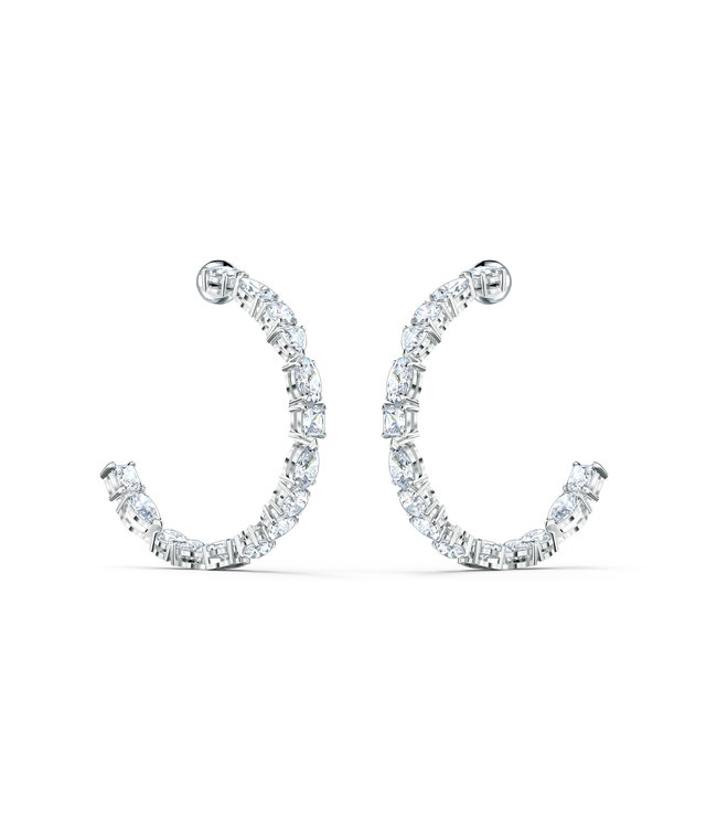Swarovski Tennis Deluxe pierced earrings Hoop 5562128