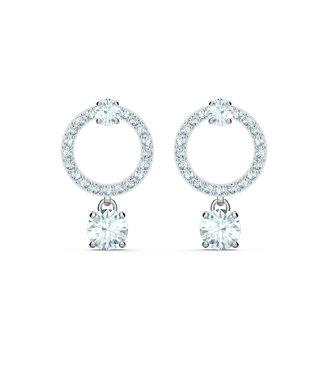 Swarovski Attract pierced earrings Circle 5563278