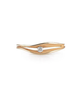 Annamaria Cammilli ring Dune Apricot gold GAN2996J