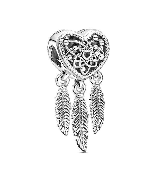Pandora Three Feathers Dreamcatcher 799107C00