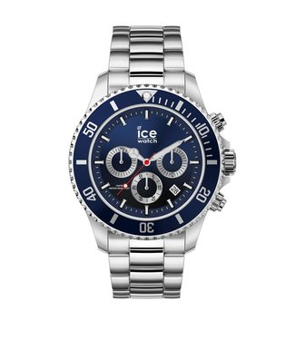 Ice Watch Ice Steel - Marine Silver - Large - 017672