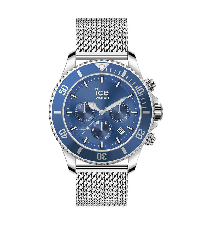 Ice Watch Ice Steel - Mesh Blue - Large - 017668