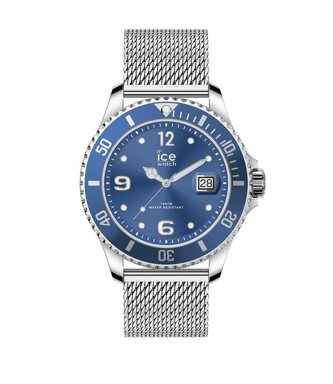 Ice Watch Ice Steel - Mesh Blue - Medium - 017667