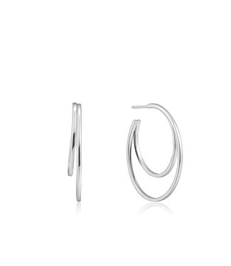 Ania Haie Ear We Go - Crescent hoop earrings E023-10H