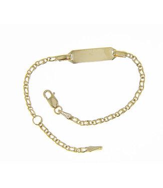 18kt armband Identiteit 171406