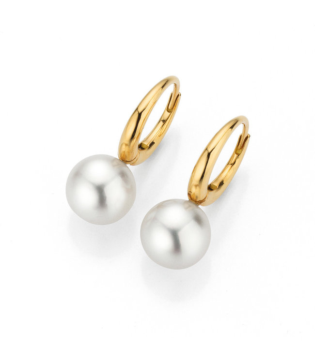 Gellner Pearls oorbellen 18kt parel Passion Design 5-22992-04