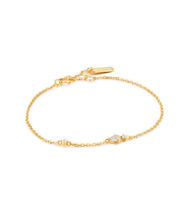 Ania Haie Midnight Fever - Midnight bracelet gold B026-04G