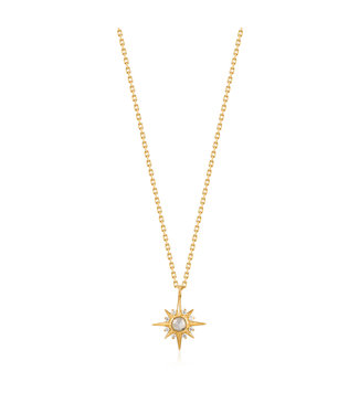 Ania Haie Midnight Fever - Midnight Star necklace gold N026-02G