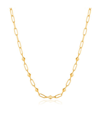 Ania Haie Spike It Up - Gold Heavy Spike necklace N025-03G