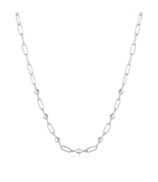 Ania Haie Spike It Up - Silver Heavy Spike necklace silver N025-03H