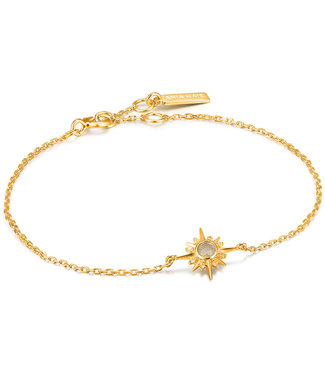 Ania Haie Midnight Fever - Midnight Star bracelet gold B026-01G