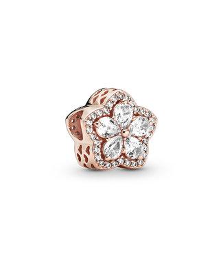 Pandora Sparkling Snowflake Pavé rose 789224C01