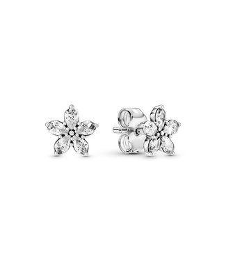 Pandora Sparkling Snowflakes stud earrings 299239C01