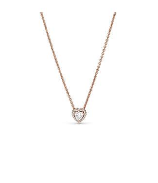 Pandora Sparkling Heart collier 388425C01-45