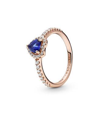 Pandora ring Non-Stackable Sparkling Heart 188421C01