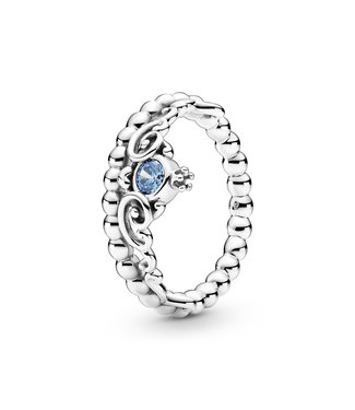 Pandora Disney, Cinderella Blue Tiara ring 199191C01