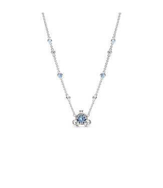 Pandora Disney, Cinderella Pumpkin Coach necklace 399198C01-45