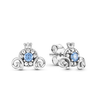 Pandora Disney, Cinderella Pumpkin Coach stud earrings 299193C01