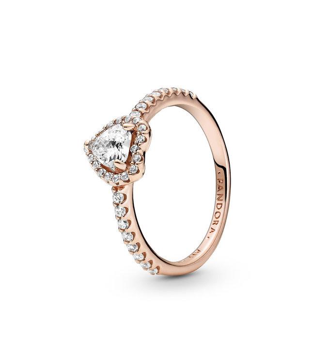 Pandora ring Non-Stackable Sparkling Heart 188421C02