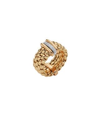 Fope ring bicolor AN587 BBRM GB