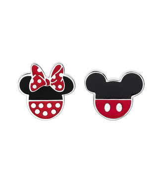 Disney oorbellen Disney Minnie & Mickey Mouse E902111SL