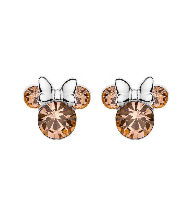 Disney oorbellen Disney Minnie Mouse Birthstone June E905162RJUNL