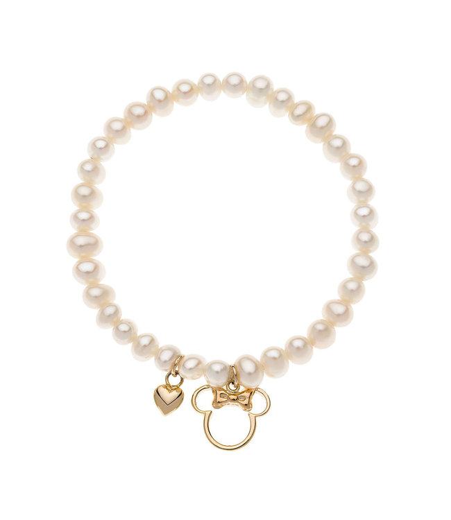 Disney armband Disney Minnie Mouse Parels 9 kt B400004L