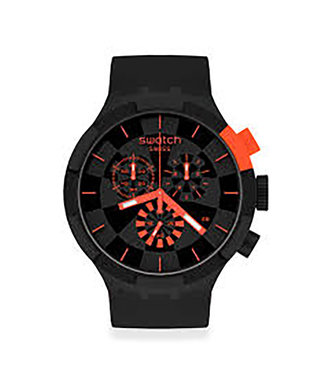 Swatch Checkpoint Red SB02B402