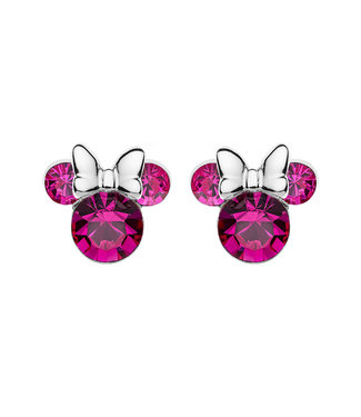 Disney oorbellen Disney Minnie Mouse Birthstone October E905162ROCTL