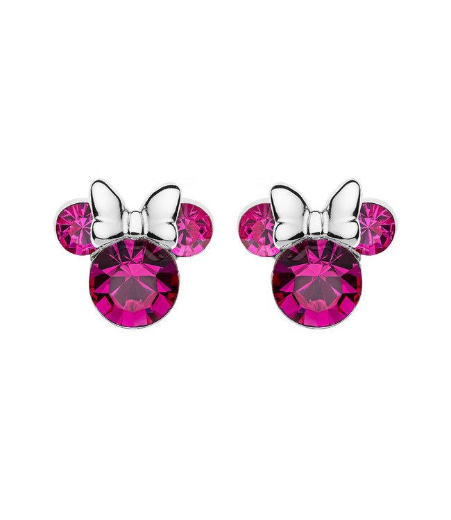 Disney oorbellen Disney Minnie Mouse Birthstone October E905162ROCTL