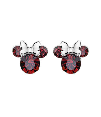 Disney oorbellen Disney Minnie Mouse Birthstone January E905162RJANL
