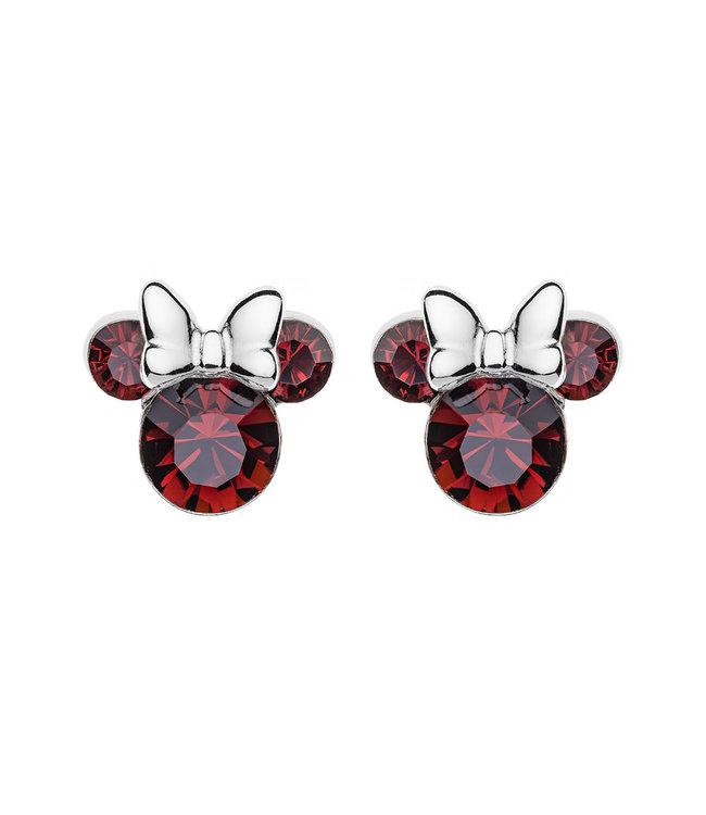 Disney oorbellen Disney Minnie Mouse Birthstone January E905162RJANL
