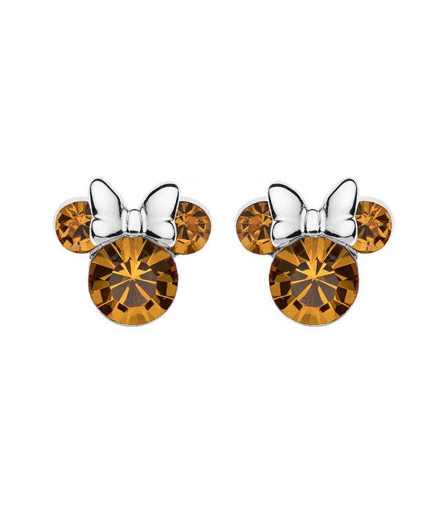 Disney oorbellen Disney Minnie Mouse Birthstone November E905162RNOVL