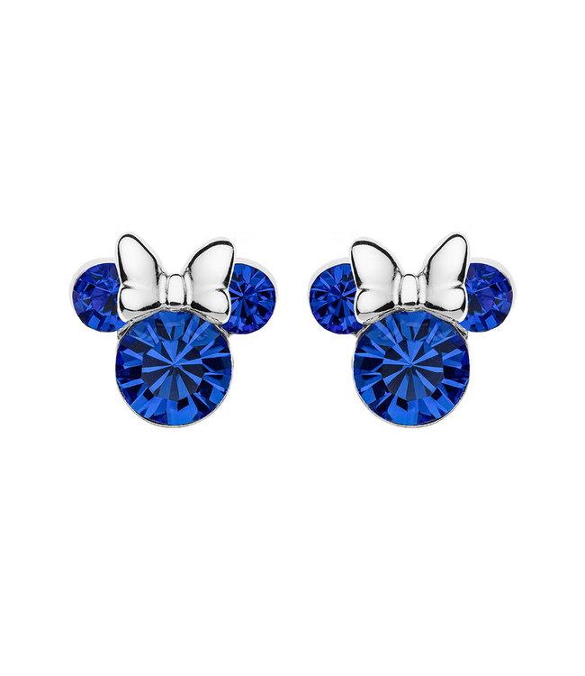 Disney oorbellen Disney Minnie Mouse Birthstone September E905162RSEPL