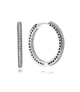 Pandora Hoop earrings 296319CZ