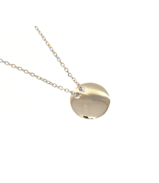 Willems Creations ketting witgoud 18kt 201332