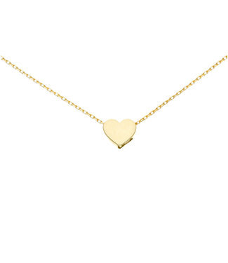 Willems Creations ketting hart 18kt 244558