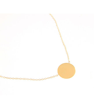Willems Creations ketting geelgoud 18kt 237956