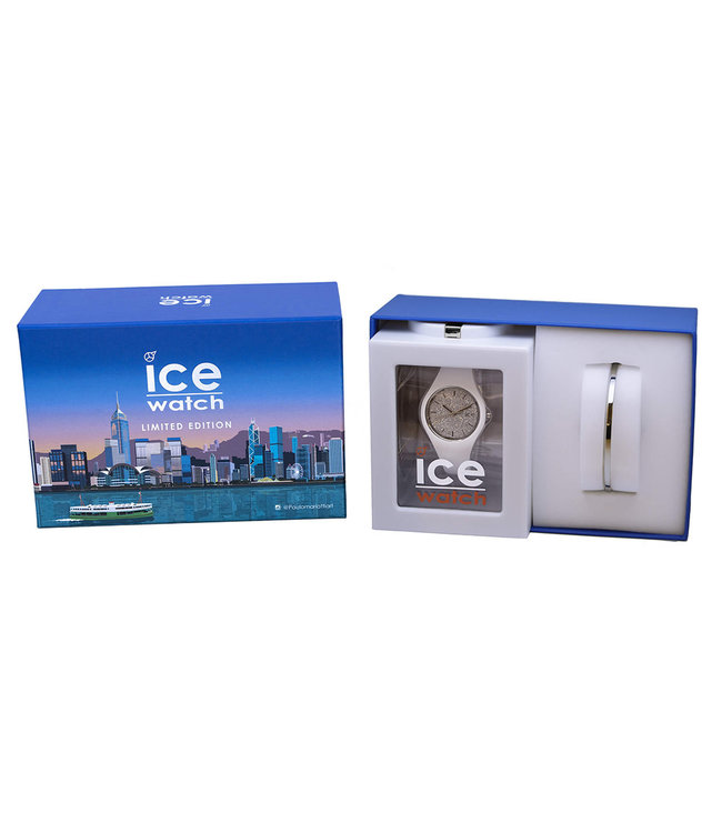 Ice Watch Gift Box Limited Edition - Ice Glitter - White Silver - Small - 018689
