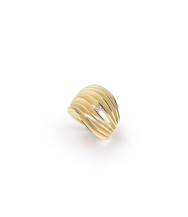 Annamaria Cammilli ring Dune yellow gold GAN3151U